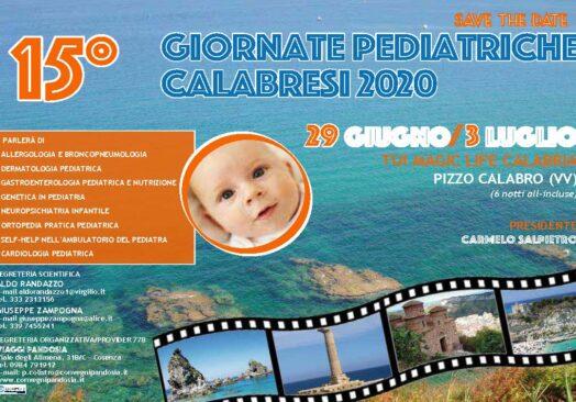 15° GIORNATE PEDIATRICHE CALABRESI 2020